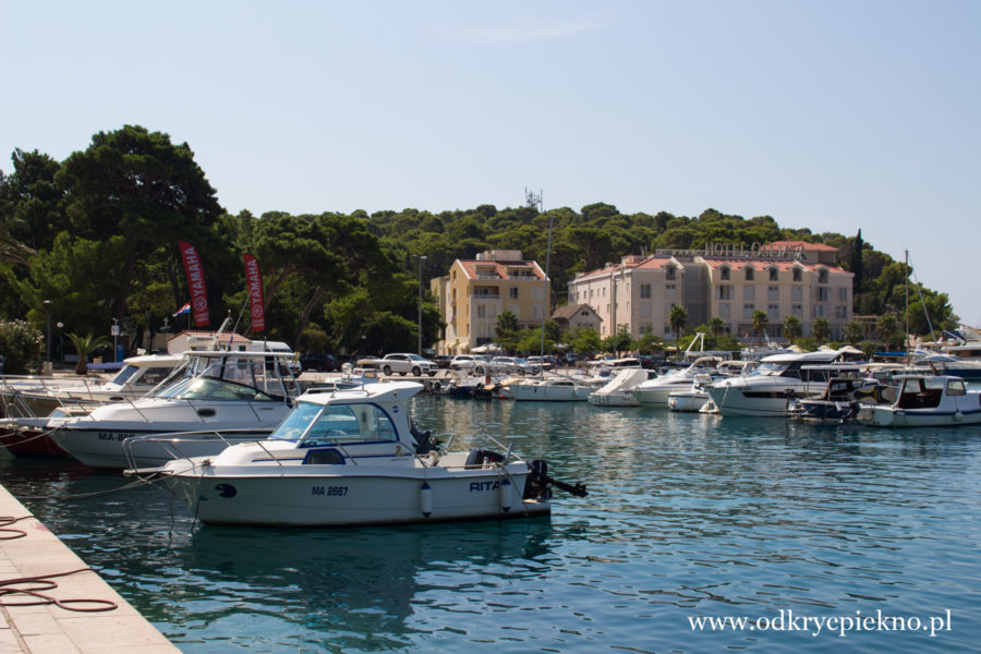 Port w Makarska, Chorwacja