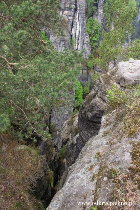 Góry Połabskie Rezerwat Bastei