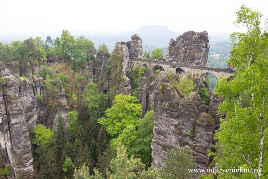 Rezerwat Bastei  Saksonia