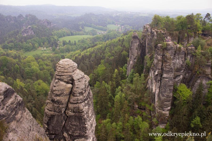 Saksonia Niemcy Bastei