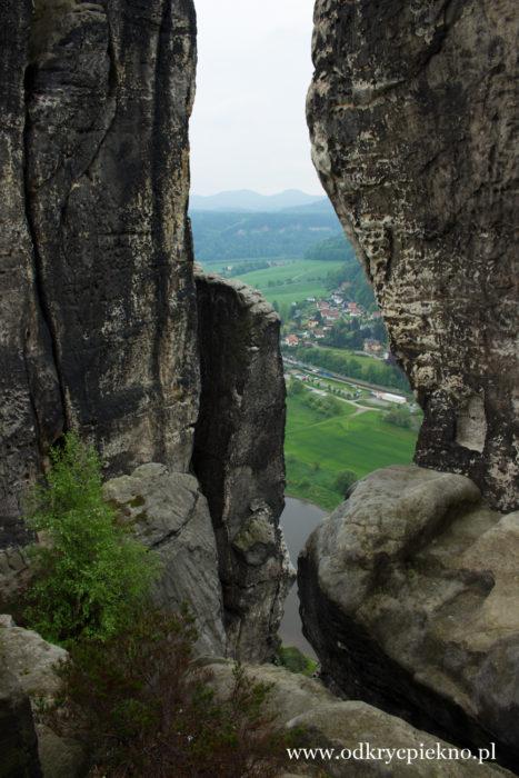 Góry Połabskie Saksonia