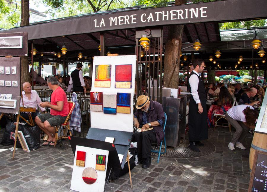 Montmartre Paryż
