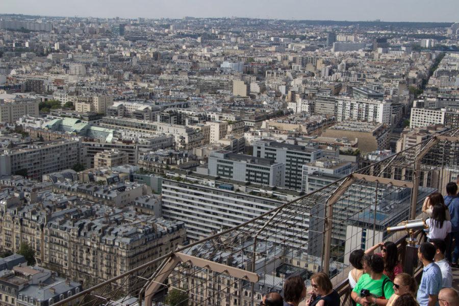 Widok z wieży Eiffla